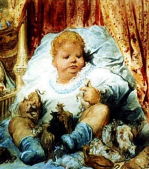 Gustave Doré, Gargantuas Kindheit