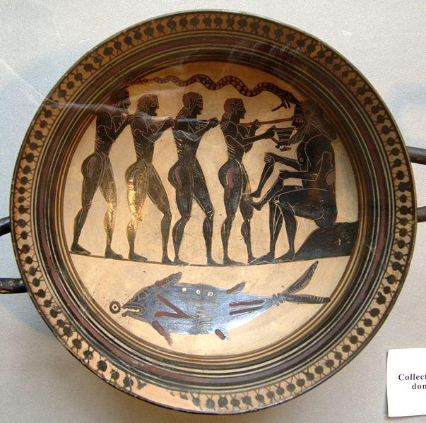 Odysseus blendet Polyphem