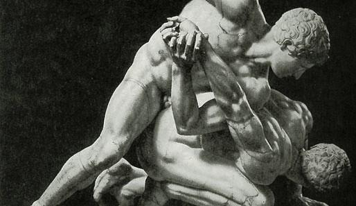 griechische Ringer (Pankration)