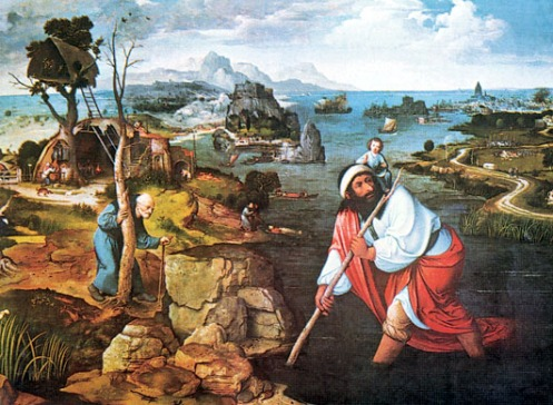 Joachim Patinier, St. Christopher
