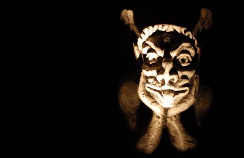 Teufel, gotisch